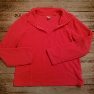 Girls fleece pullover size 14